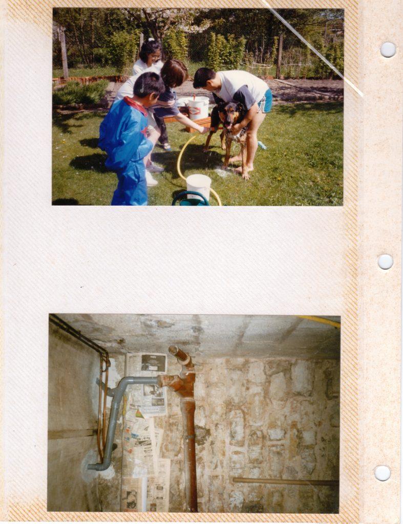 Chantal. Chantier de rénovation 1, l'appartement, Dijon, 1997