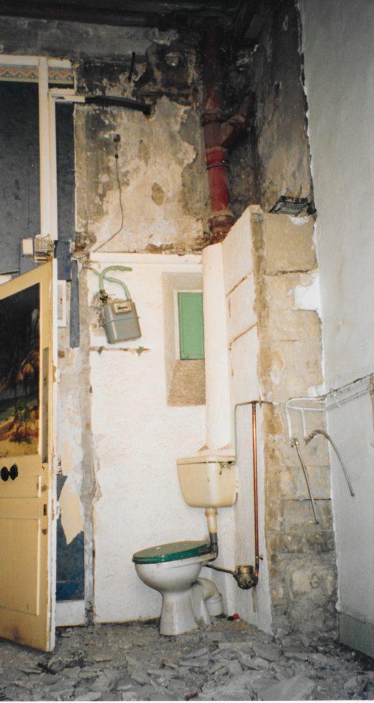 Rénovation d'appartement. Lyon, 2005 (Habitant)
