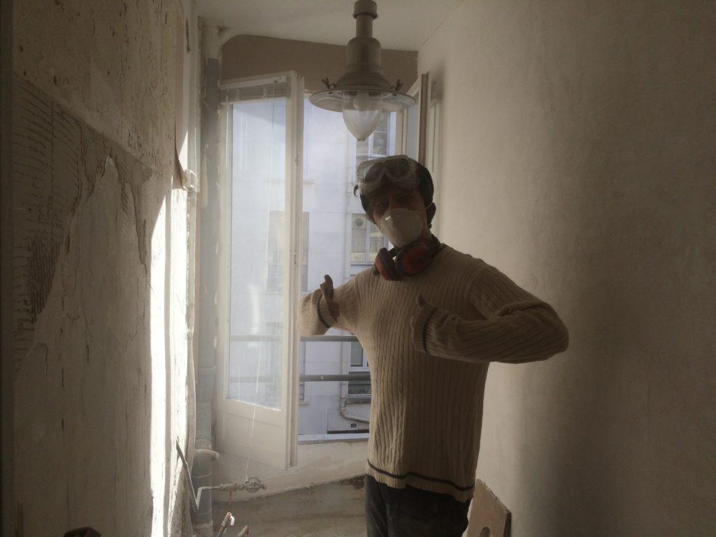 Nelson, Rénovation appartement, Paris, 2017