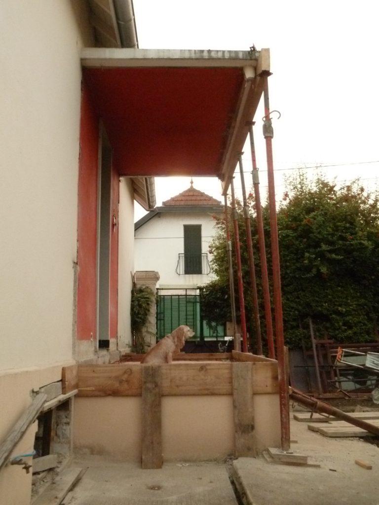 Chantal. Chantier de rénovation 2, la maison, Dijon, 2013