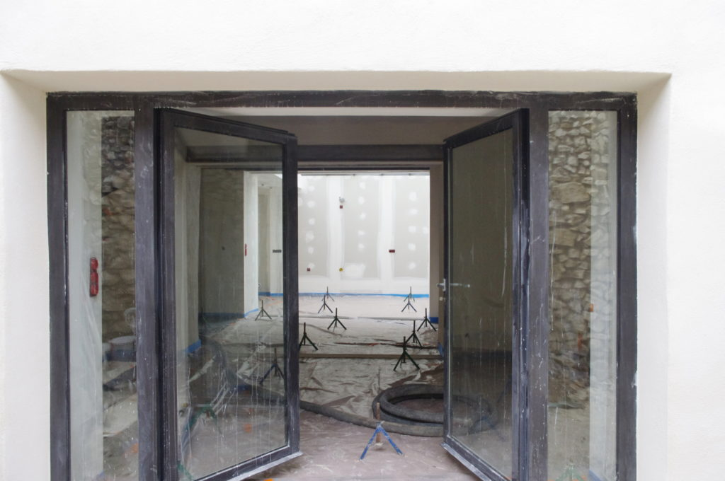 Vaucluse, chantier maison (2010-2012). Habitant