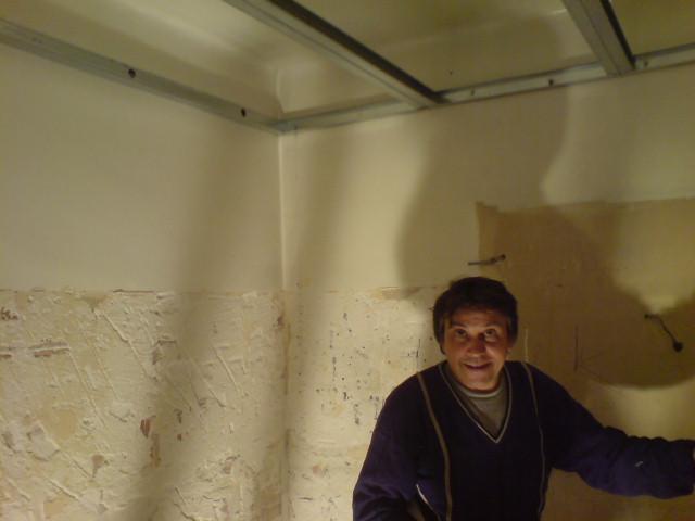 Région lyonnaise, 2011. Un collègue. Artisan.