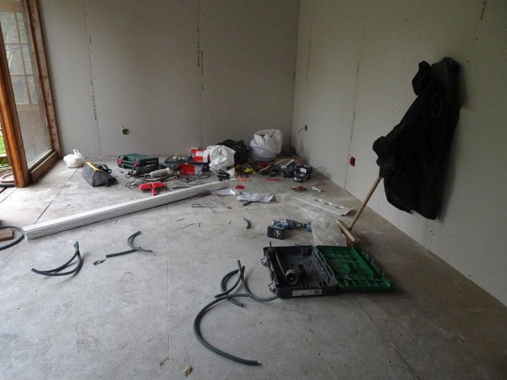 Villeurbanne, chantier dépendances, 2019. Habitant